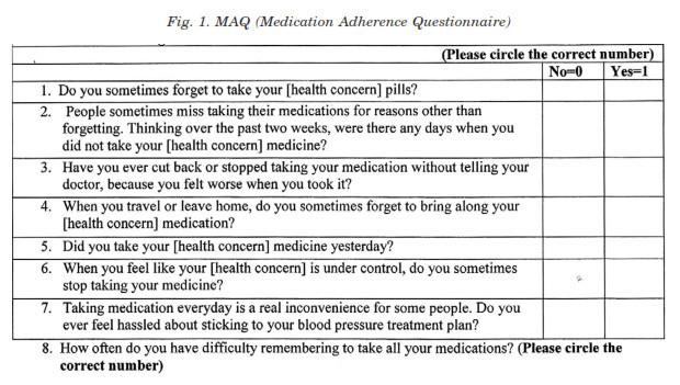 medication not adherence essay